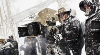The Hateful Eight: Quentin Tarantino sul set del film