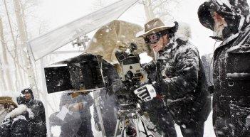 The Hateful Eight: Quentin Tarantino sul set del film