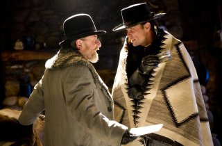 The Hateful Eight: Walton Goggins e Tim Roth a confronto