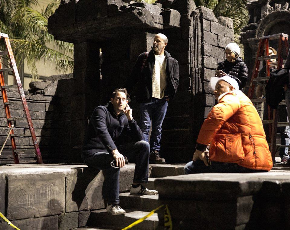 XxX: The Return of Xander Cage - Vin Diesel sul set con la crew
