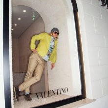 Owen Wilson in vetrina a Roma per Zoolander 2!