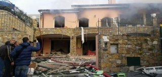 Sanremo esplosione a Villa delle Rose