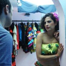 Hedi: Majd Mastoura e Rym Ben Messaoud felici in un momento del film