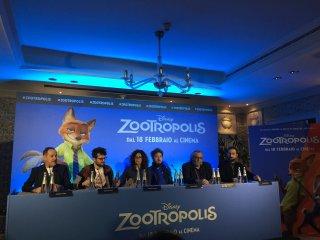 Zootropolis: il cast vocale italiano alla presentazione stampa del film
