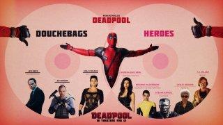 Deadpool: un'infografica ci spiega chi sono i buoni e chi i cattivi