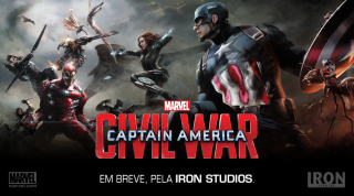 Captain America: Civil War - Un banner del film