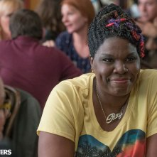 Ghostbusters: un primo piano di Leslie Jones