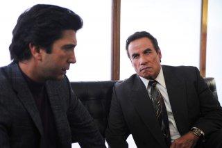 American Crime Story: The People v. O.J. Simpson - Gli attori David Schwimmer e John Travolta in una foto della serie targata FX