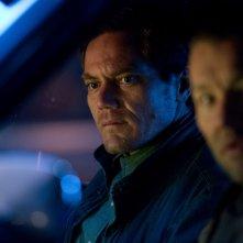 Midnight Special: Michael Shannon e Joel Edgerton in una scena del film