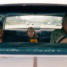 Soy Nero: Johnny Ortiz in macchina con altri due personaggi del film