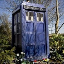 Un'immagine del TARDIS dall'episodio Amy's Choice di Doctor Who