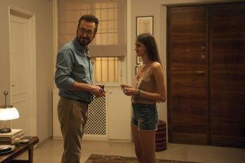 Perfetti sconosciuti: Marco Giallini in un momento del film