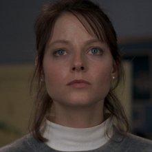 Jodie Foster in una scena de IL SILENZIO DEGLI INNOCENTI di Jonathan Demme