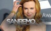 Sanremo 2016,  Nicole Kidman tra gli ospiti di stasera