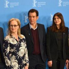 Berlino 2016:Lars Eidinger, Meryl Streep, Clive Owen, Małgorzata Szumowska, Alba Rohrwacher in uno scatto al photocall della giuria