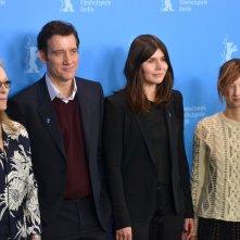Berlino 2016:Meryl Streep, Alba Rohrwacher, Clive Owen, Małgorzata Szumowska posano al photocall della giuria