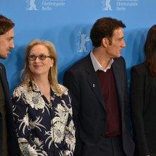 Berlino 2016: Lars Eidinger, Meryl Streep, Clive Owen e Małgorzata Szumowska al photocall della giuria