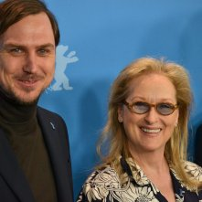 Berlino 2016:Meryl Streep e Lars Eidinger al photocall della giuria