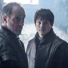 Il trono di spade: gli attori Michael McElhatton e Iwan Rheon
