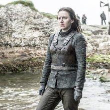 Il trono di spade: l'attrice Gemma Whelan in una foto della serie