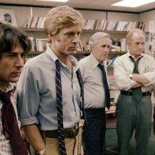 Tutti gli uomini del presidente: Dustin Hoffman e Robert Redford