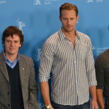 Berlino 2016:Michael Peña, Alexander Skarsgård e Chris Clark al photocall di War On Everyone