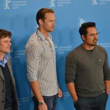 Berlino 2016: Chris Clark, Michael Peña e Alexander Skarsgård al photocall di War On Everyone