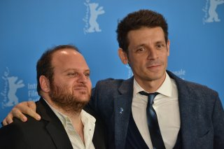 Berlino 2016: Daniel Burman e Alan Sabagh al photocall di The Tenth Man