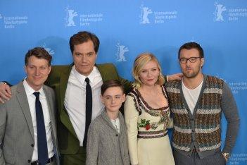 Berlino 2016: Jeff Nichols, Kirsten Dunst, Joel Edgerton, Jaeden Lieberher e Michael Shannon al photocall di Midnight Special