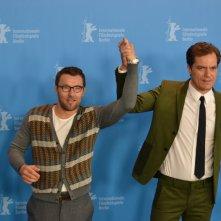 Berlino 2016: Joel Edgerton e Michael Shannon al photocall di Midnight Special