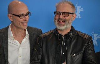 Berlino 2016: Denis Côté e James Hyndman al photocall di Boris without Béatrice