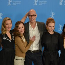 Berlino 2016: James Hyndman, Laetitia Isambert, Simone-Elise Girard, Isolda Dychauk al photocall di Boris without Béatrice