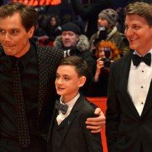 Berlino 2016: Michael Shannon, Jaeden Lieberher e Jeff Nichols sul red carpet di Midnight Special