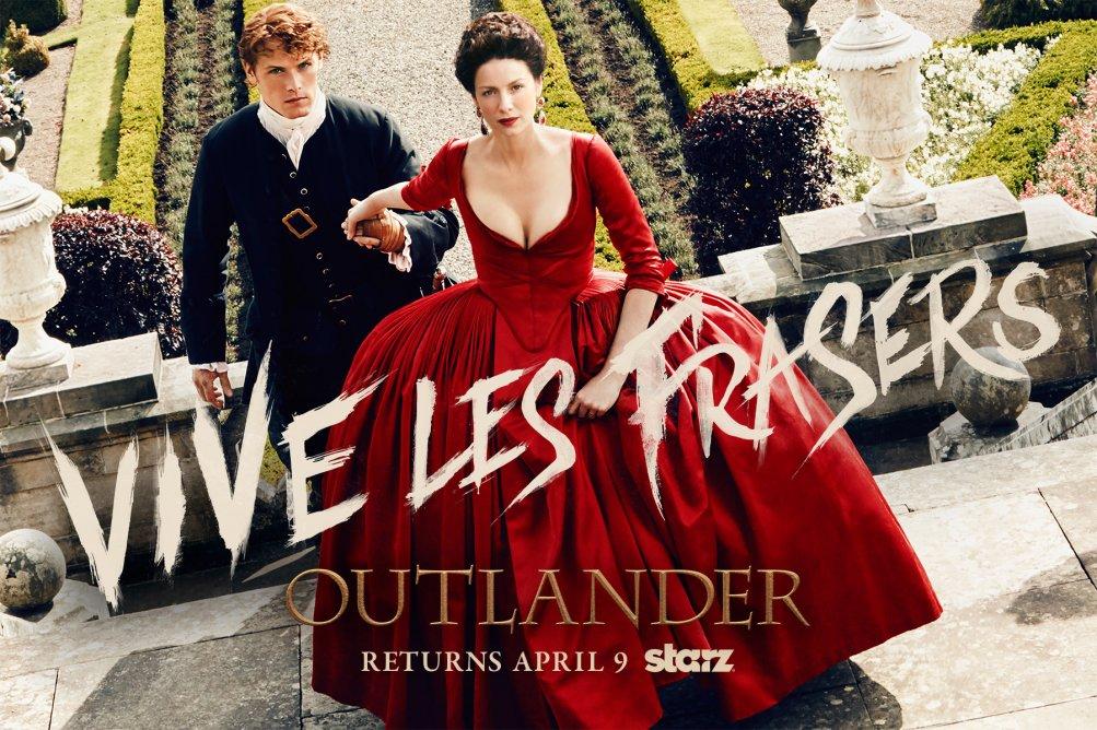 Outlander, poster della seconda stagione