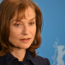 Berlino 2016: Isabelle Huppert al photocall di Things To Come