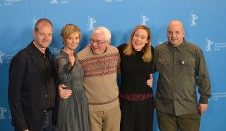 Berlino 2016: Terence Davies, Cynthia Nixon, Jennifer Ehle e i produttori al photocall di A Quiet Passion