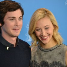 Berlino 2016: Logan Lerman e Sarah Gadon al photocall di Indignation