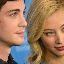 Berlino 2016: Sarah Gadon e Logan Lerman al photocall di Indignation
