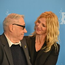 Berlino 2016: Sandrine Kiberlein e André Téchiné al photocall di Being 17