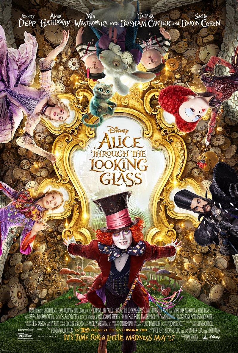 Alice attraverso lo specchio: un nuovo poster del film