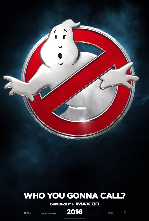 Ghostbusters: il teaser poster del film