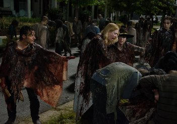 The Walking Dead: una drammatica scena di No Way Out