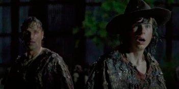 The Walking Dead: Rick e Carl in una foto di No Way Out