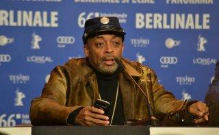 Berlino 2016: Spike Lee durante la conferenza di Chi-Raq