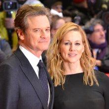 Berlino 2016: Colin Firth, Laura Linney sul red carpet di Genius