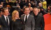 Jude Law e Colin Firth a Berlino per Genius (foto e video)