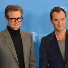 Berlino 2016: Jude Law e Colin Firth al photocall di Genius
