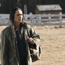 Fargo: l'attore Zahn McClarnon in una foto di Palindrome