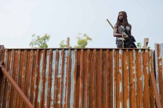 The Walking Dead: l'attrice Danai Gurira in The Next World