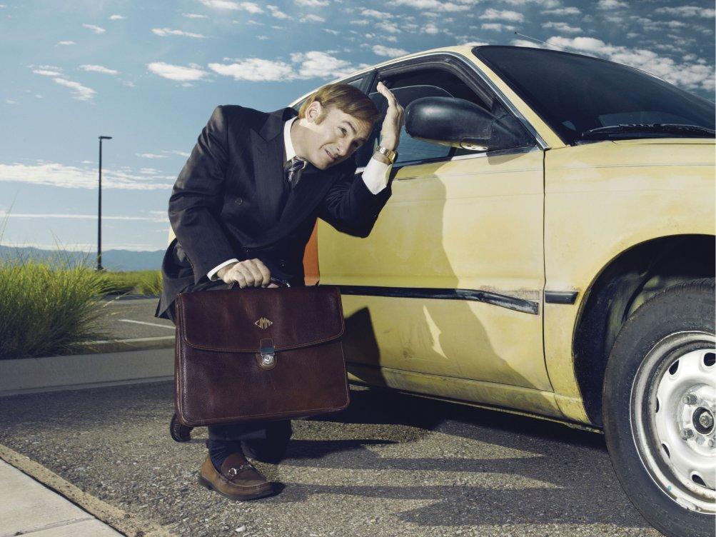 Better Call Saul: Bob Odenkirk in una immagine promozionale della serie